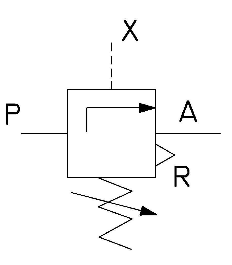 Valvula de secuencia circuito